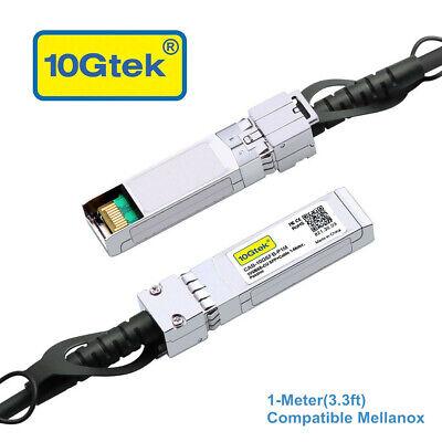 Passive DAC Twinax Cable MC3309130-001 1m Mellanox Compatible 10G SFP