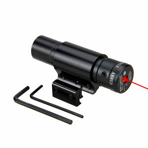 optica-Laseres-Tactico-Laser-Rojo-Haz-de-Punto-Sight-Scope-Exterior-Caza-Montaje