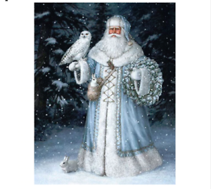 Pintura De Diamante Nuevo Cross Stitch invernal 3d bordado hágalo usted mismo Diamante