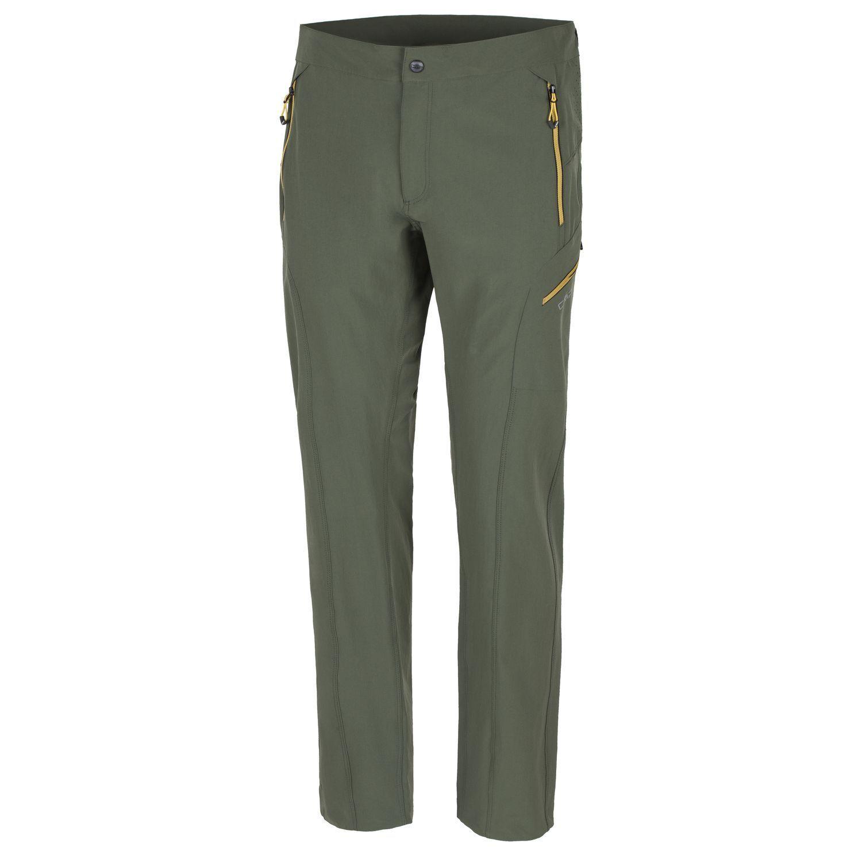 CMP multi-pantalones de deporte función pantalones verde dryfunction UV-projoección Stretch