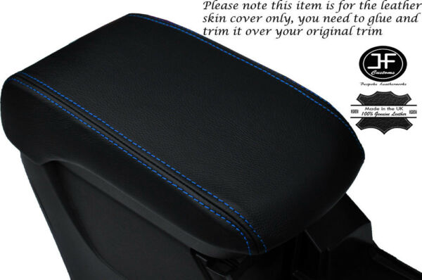 2019 Nieuwe Stijl Blue Stitch Armrest Lid Leather Cover For Mitsubishi Lancer Evo 10 X 08-16