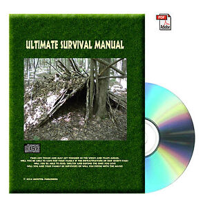 Wilderness, Survival, Water, Fire, Collection Surviving Books CD