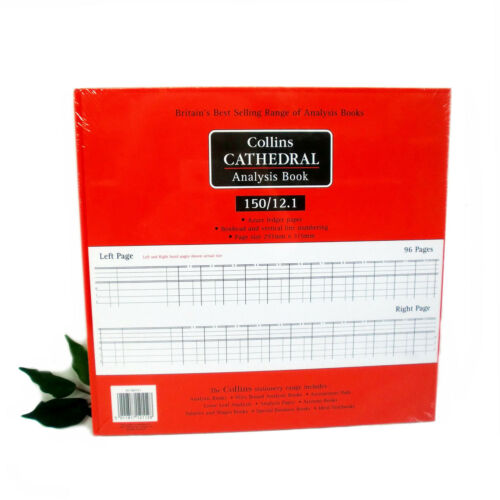COLLINS Cathedral Analysis Book 150 series 150//12.1  Accounts Book