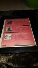 Duran Duran John Lennon Tracie Spencer Rare Radio Promo Poster Ad Framed!