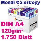 ColorCopy 120g DIN A4 250 Blatt Mondi Neusiedler Druckerpapier weiß Color Copy