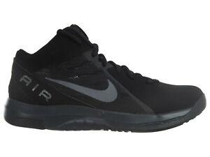 ad1ff379215d NIB Mens Nike Air Overplay IX NBK Black Metallic Dark Grey ...