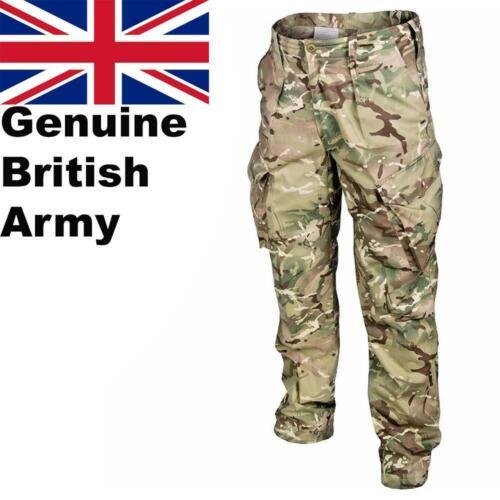 Genuine British Army Combat MTP Multicam Camo Pantalone Militare Nuovo
