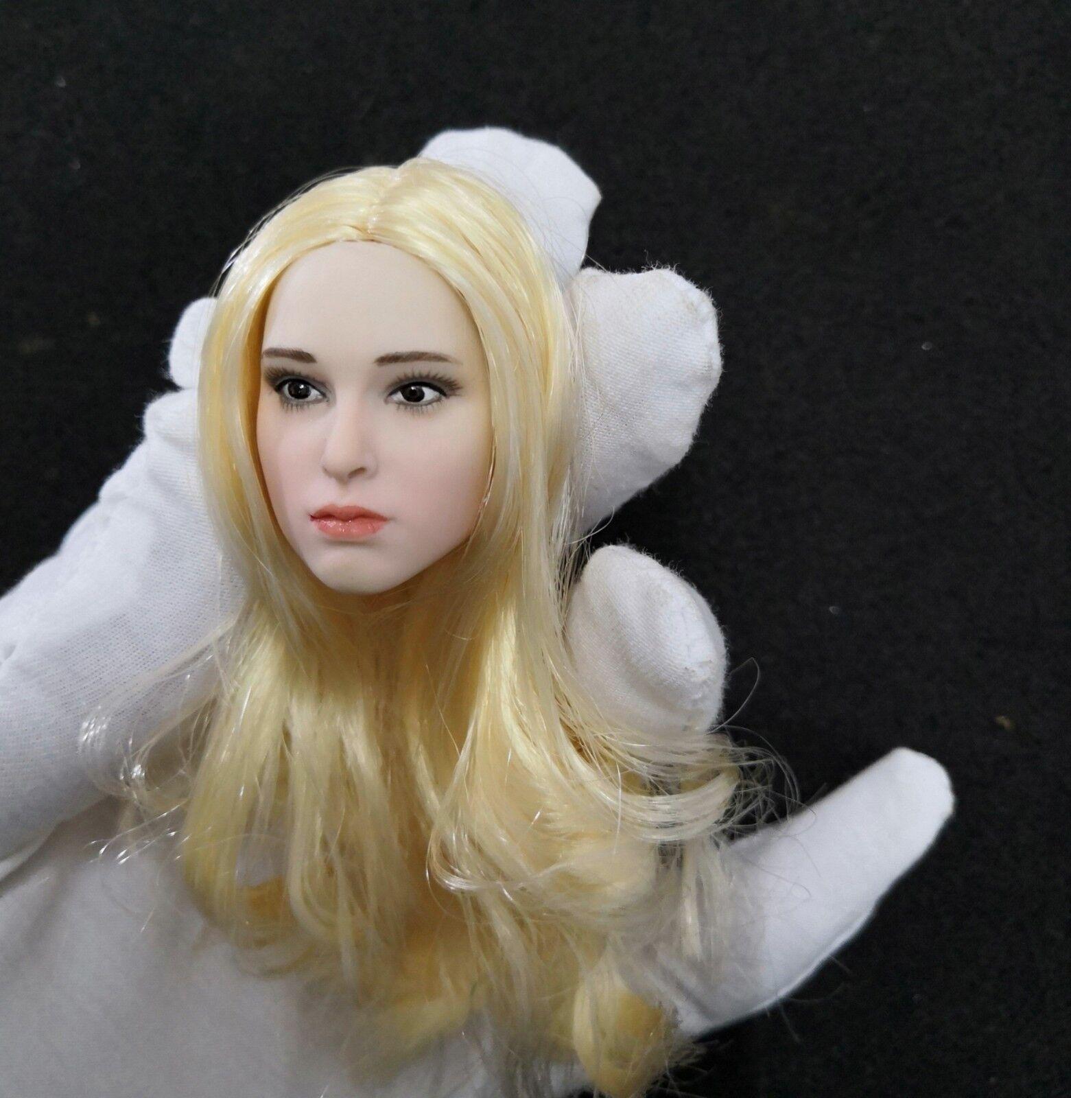 1   6 - skala natalie portman mädchen blond kopf carving - f 12  action - figur