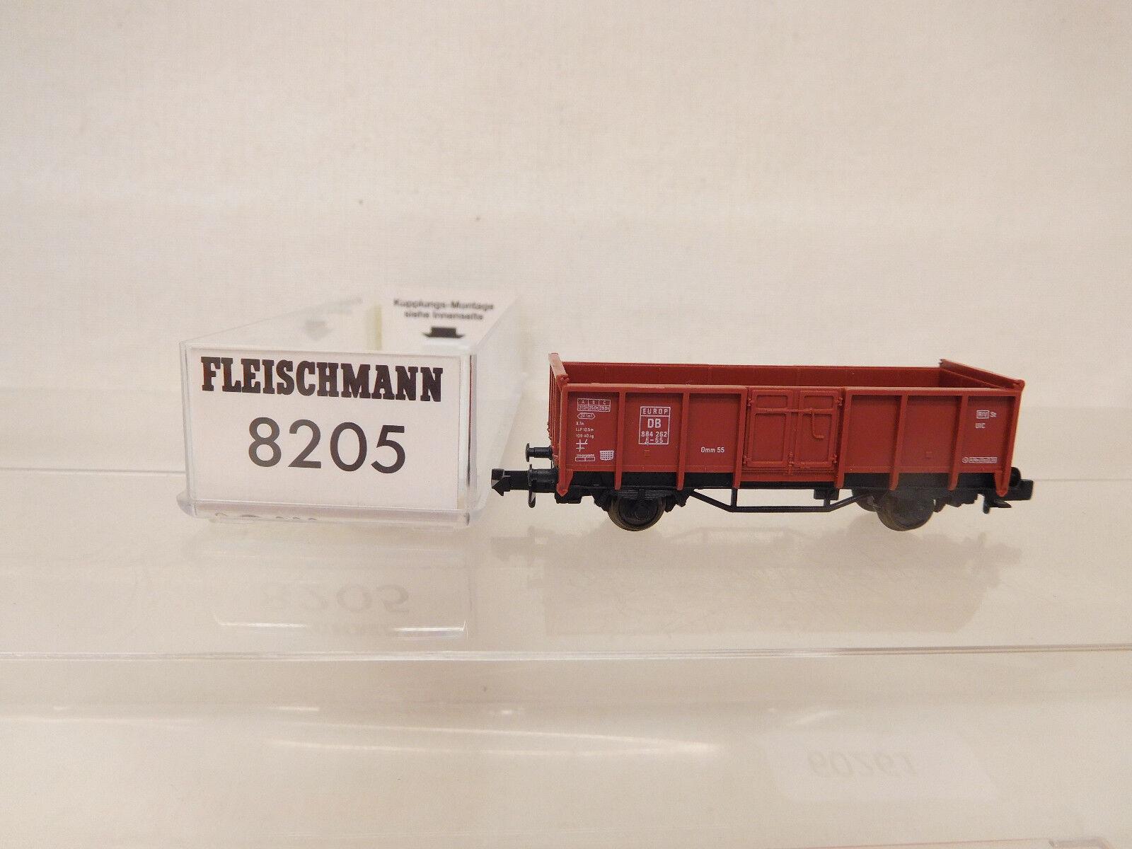 Mes-60261 8205 Fleischmann pista n n n vagones DB 884262 muy buen estado,  caliente