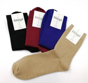 Mongolian-Worsted-Combed-Pure-Merino-Wool-Men-Man-Women-Woman-Breathable-Socks