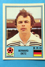 Panini Europa 80 Europe Original sticker n 41 GERMANY DIETZ NEW with back