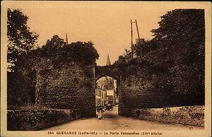 Guerande-Frankreich-Loire-Inferieure-AK-1910-Porte-Vannetaise-Carte-Postale-CPA