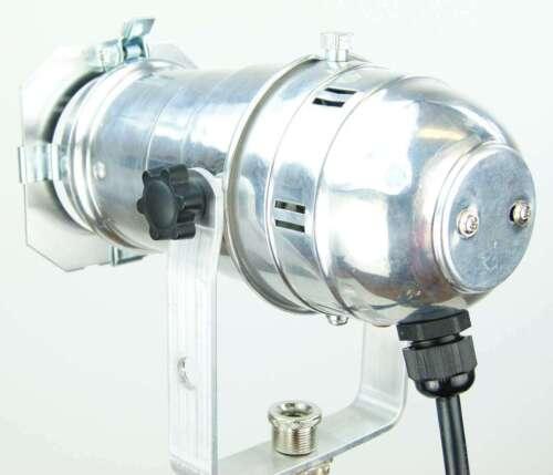 E27 Fassung /& Stecker Disco Scheinwerfer Spotlight Silber Profi PAR 20 Spot m
