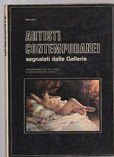 artisti contemporanei segnalati dalle gallerie