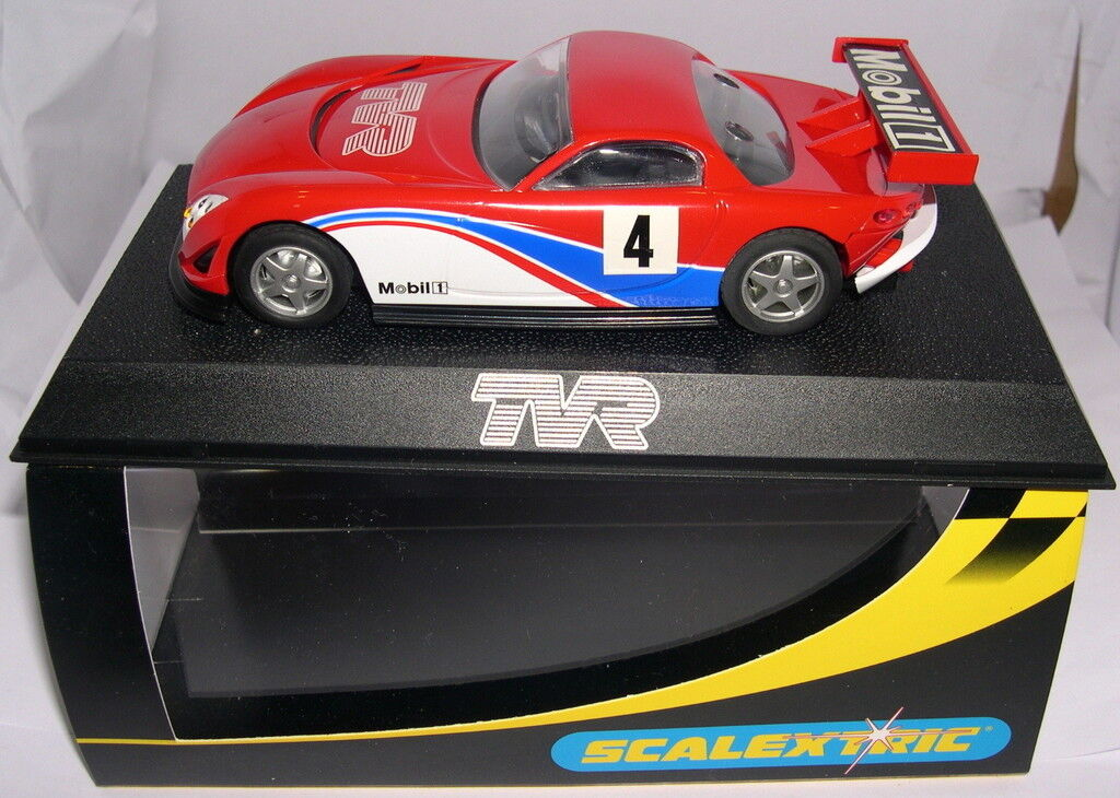 SCALEXTRIC SLOT CAR TVR SPEED 12  4 MOBIL SPECIALE EDITION MB