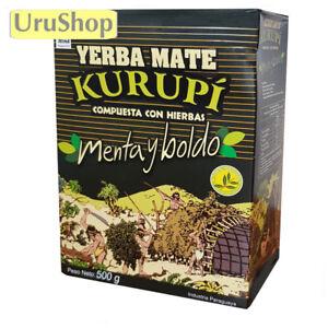 Y35 Yerba Mate Kurupi Premium Thé Paraguay Antiacid-afficher Le Titre D'origine