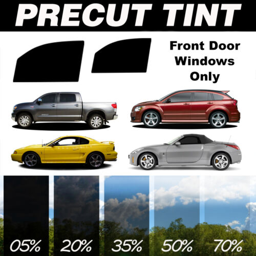 PreCut Window Film for Chevy Tahoe 4dr 95-99 Front Doors any Tint Shade