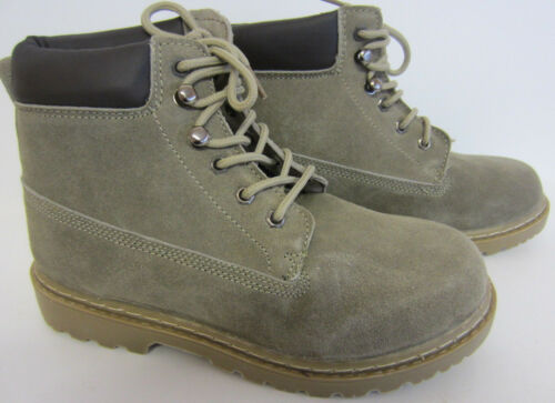 R13B Cutie Qt Boys Boots H5005 Taupe Suede UK Sizes 13-6