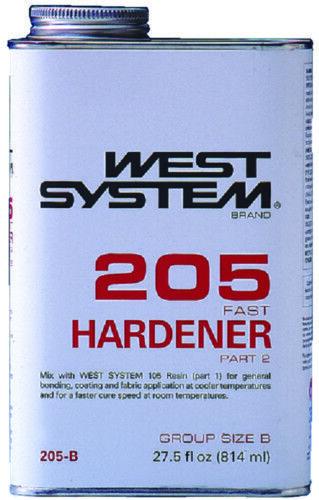 Stiefel Marine System West System Marine Schnell Härter Part 2 27.5oz 814ML 205-B 5f14eb