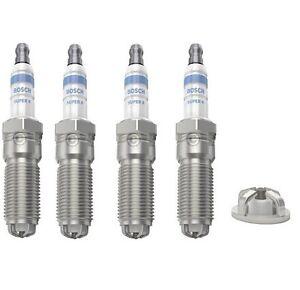 Bujias-X-4-Bosch-Super-4-se-ajusta-Ford-Focus-MK-II-1-4-1-6-1-6Ti-2004-2011