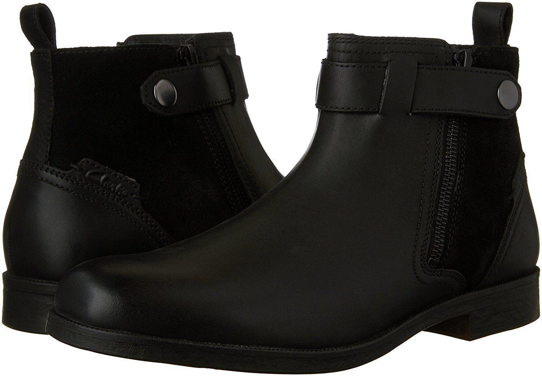 Clarks Men's Brocton Mid Biker Boots UK Size 8, 8.5,9,9.5,10 G
