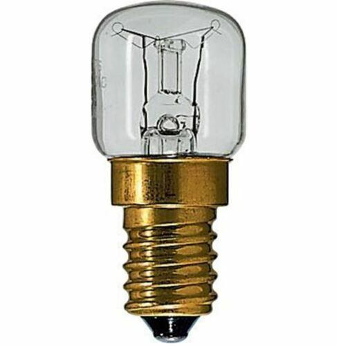 25w Fornello Forno Lampade//lampadine 240v SES E14 300 gradi