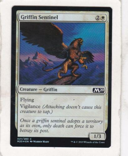 MTG M2020 Foil Griffin Sentinel Magic