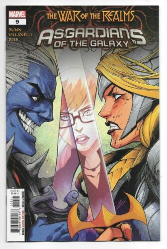 Marvel Comics ASGARDIANS OF THE GALAXY #9 first printing War of the Realms