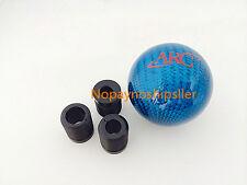 ARC JDM Racing Carbon Fiber Blue Stick Shift Knob Shifter Knob mazda sti s2000