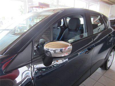 Renault Captur Spiegelkappen Spiegelschalen Chrom Original Renault Zubehör