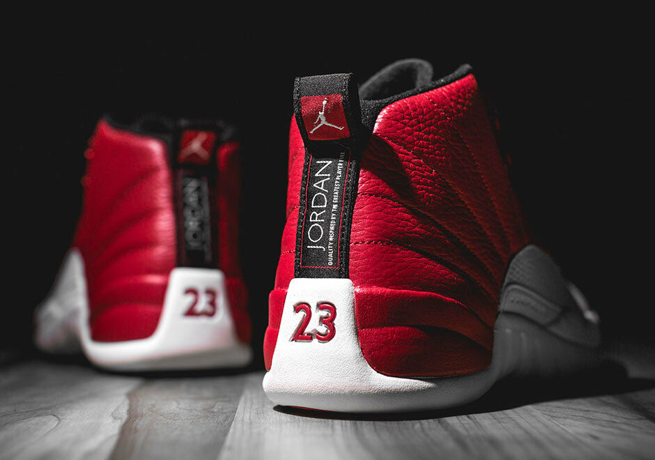 Air Jordan Retro 12 Flu Game Red 1 Boys bred black 11 Playoff Taxi cherry toe 13