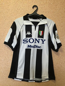new styles ae1f4 0f548 Details about JUVENTUS ITALY 1997/1998 HOME FOOTBALL SHIRT JERSEY CAMISETA  MAGLIA KAPPA #10