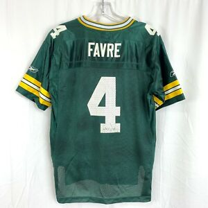 Brett-Favre-Green-Bay-Packers-NFL-Team-Apparel-Reebok-Jersey-Youth-Size-L-14-16