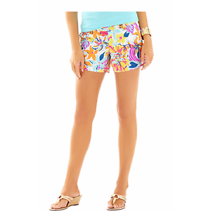 Blu Pulitzer Lilly 2 Rosa Corti Callahan Pantaloncini Multi Besame Mucho Nuovo zBwqUw