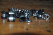 LOT 10 colliers  de fixation de tuyau hydraulique diamètre 6mm largeur 15mm