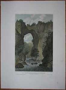 1833-Meyer-print-NATURAL-BRIDGE-LEXINGTON-VIRGINIA-35