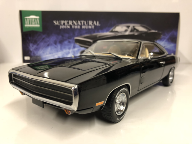Supernatural Join the Hunt 1970 Dodge Charger Greenlight 19046 1:18 Scale