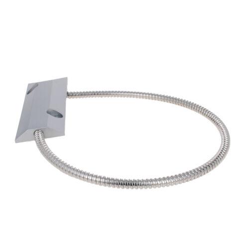 1Pcs Wired Door Contact Sensor Alarm Detector Magnetic Reed Switch Zinc Alloy