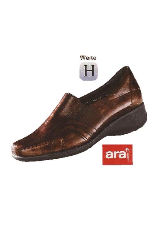 Zapatos casuales salvajes Descuento por tiempo limitado SCHUHE DAMENSCHUHE HALBSCHUHE SLIPPER BRAUN LEDER ARA Gr. 3,5 ( 36 ) W H