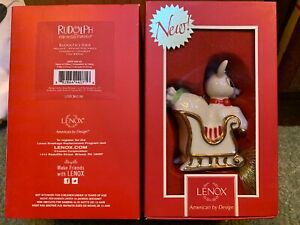 2013-New-Rudolph-s-Ride-Tree-Ornament-New-in-box-Retail-60-00-Mint-In-Box