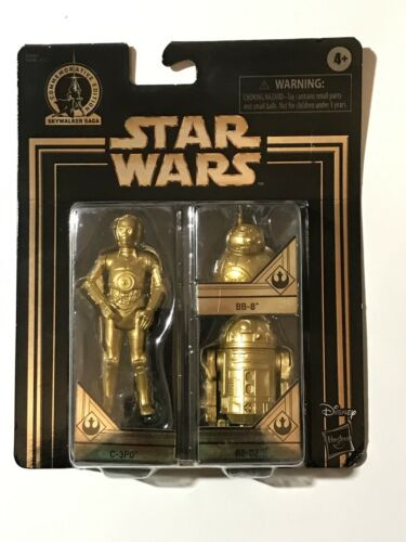 R2-D2 /& BB-8 FIGURES STAR WARS COMMEMORATIVE EDITION SKYWALKER SAGA 2019 C-3PO