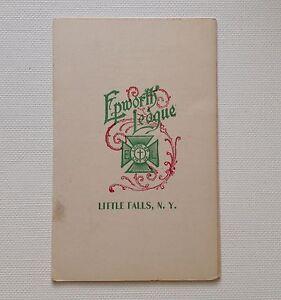 Epworth-League-1900-Little-Falls-NY-Vintage-Methodist-Church-Ad-Card-Prayer-Mtg