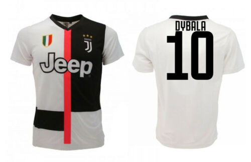 Maglia Ufficiale Juventus 2019-2020 DYBALA ARTURO Numero 10 ...