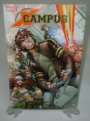 X-Campus X-Men in High School Wolverine Marvel Comics TPB Trade Paperback New