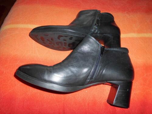Absatz 5cm Stiefeletten 6 Schmaler Fuß Think 43 Schwarze qxIXS