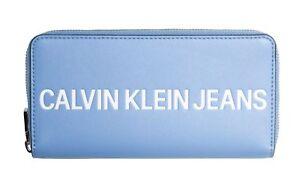Grand Logo Klein avec Calvin logo Blue Blue Nouveau zippᄄᆭ sac Alaskan gravᄄᆭ jLq4c35RA