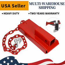 Forklift Hitch Receiver Pallet Fork Trailer Towing Adapter 2inch Extensions Red