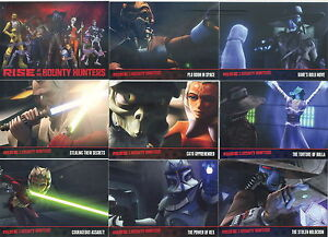 STAR-WARS-CLONE-WARS-2-RISE-OF-THE-BOUNTY-HUNTERS-2010-TOPPS-BASE-CARD-SET-OF-90