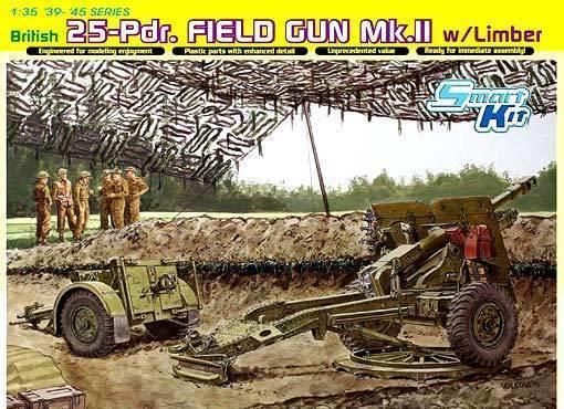 Dragon 1 3 5 6774  feld-geschütz mk.ii 25-PDR