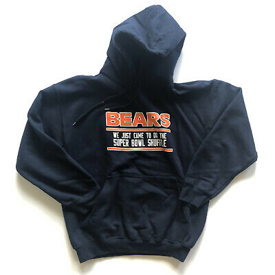 Vintage black hooded  bears print pullover from 80/'s